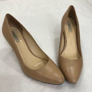 Cole Haan Classic Nude Leather Pumps Size 9B